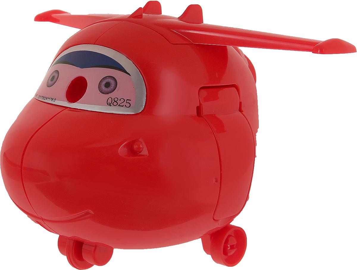 Точилка механическая с контейнером Вертолет цвет красный 2924196 -  Чертежные принадлежности