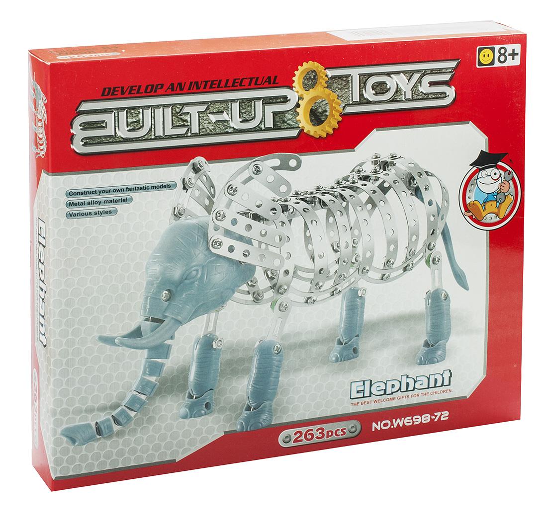 Built-up Toys Конструктор Слон