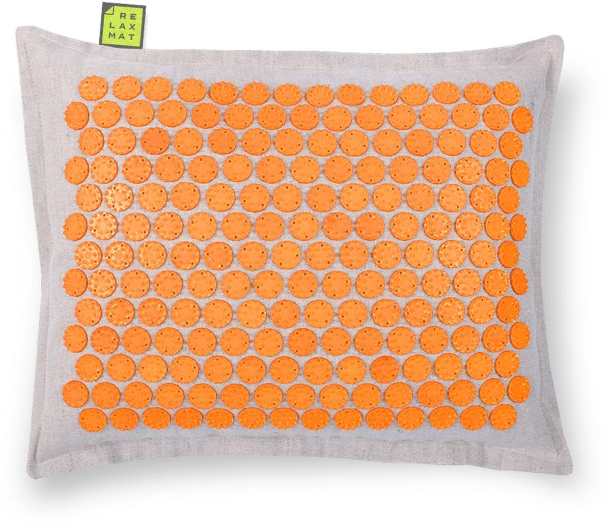 Relaxmat Массажная подушка, цвет: оранжевый