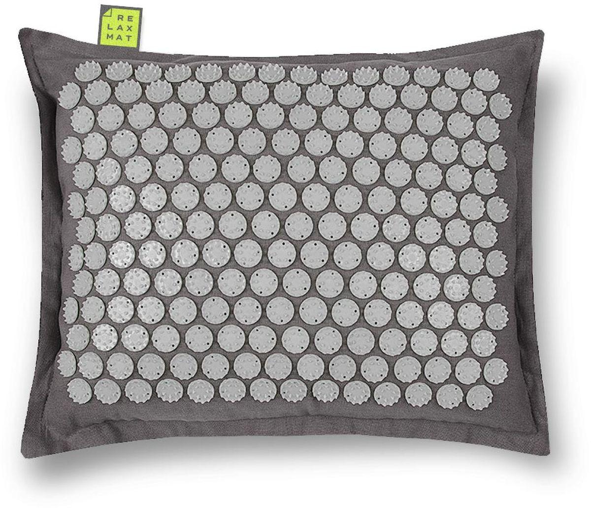 Relaxmat Массажная подушка, цвет: серый, графитовый