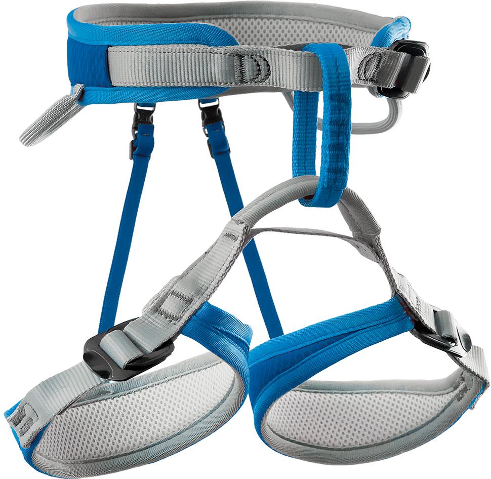 Обвязки спортивные Rock Empire Hopi D1, цвет: синий00000033851HOPI – это полностью регулируемая обвязка для спортивного скалолазания для детей. Петли для ног конической формы подходят для небольших ног и обеспечивают высокий уровень комфорта. Одна быстрозастегивающаяся пряжка на поясном ремне помогает быстро и безопасно подогнать обвязку по размеру. Обвязка выпущена в новом ярком цвете и, благодаря усовершенствованиям, сделана более легкой. 3 быстрозастегивающиеся пряжки. Легкая соединительная страховочная петля контрастного цвета. Качественный вспененный материал, не теряющий форму. Инновационные эргономичные ремни.2 петли для снаряжения (грузоподъемность 5 кг). Размеры:объем пояса: 44 - 66 см. Объем ног: 37 - 49 см. Вес: 286 г. Стандарт: EN 12277.