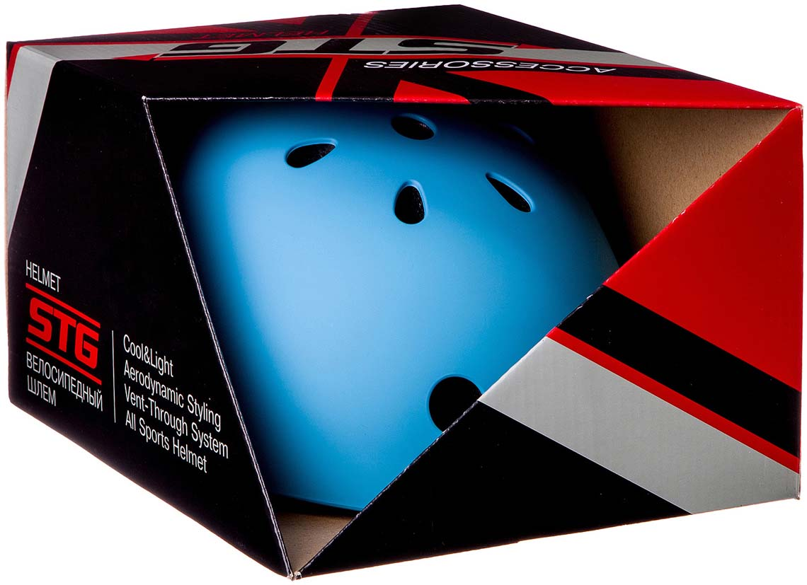 Шлем STG MTV12, цвет:  синий.  Размер M (55-58 см) STG