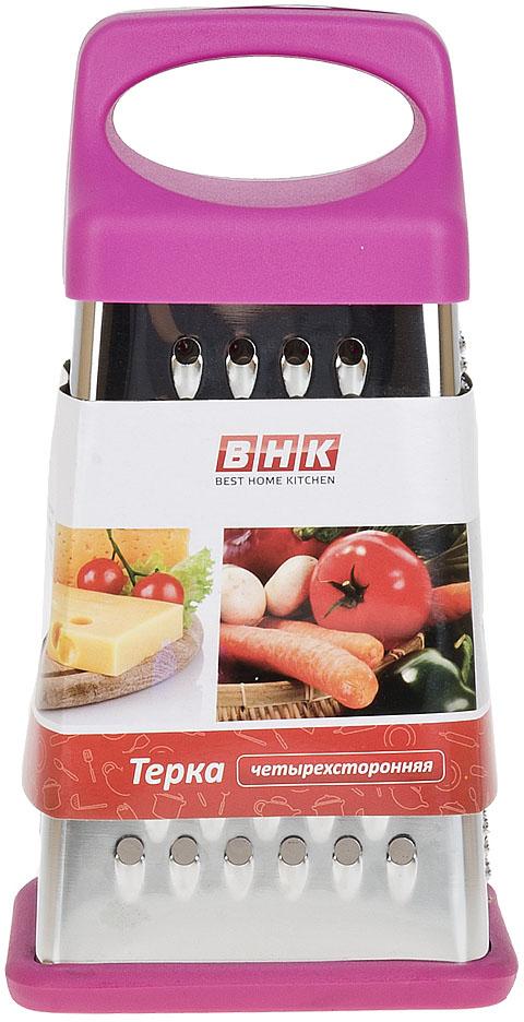 """Терка Best Home Kitchen """"Лесные ягоды"""" изготовлена из нержавеющей стали, ручка из пластика.Четыре варианта режущих плоскостей.Удобная и простая в использовании, незаменимый инструмент в кухне любой хозяйки"""
