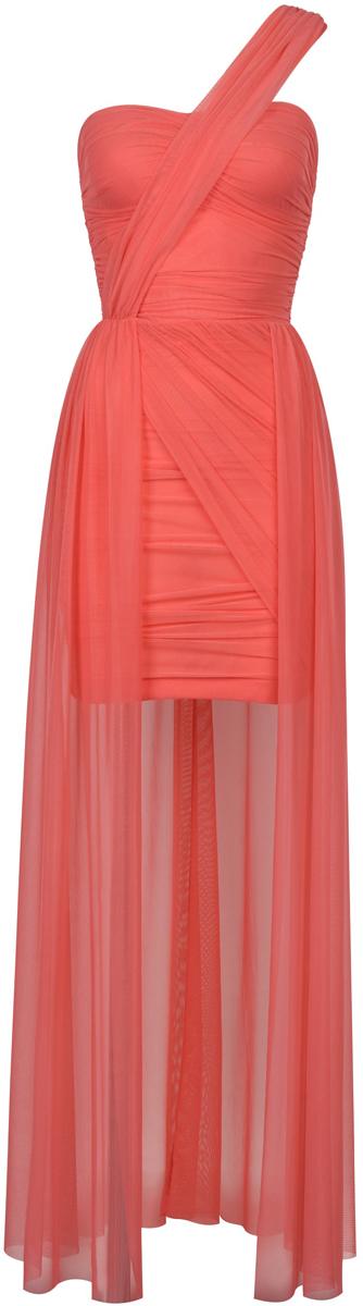 Платье Love Republic, цвет: коралловый. 8254612534_24. Размер 40 брюки love republic love republic lo022ewutb83