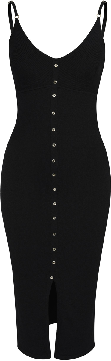 Платье Love Republic, цвет: черный. 8254751557_50. Размер XS (42) платье love republic love republic lo022ewxsm74