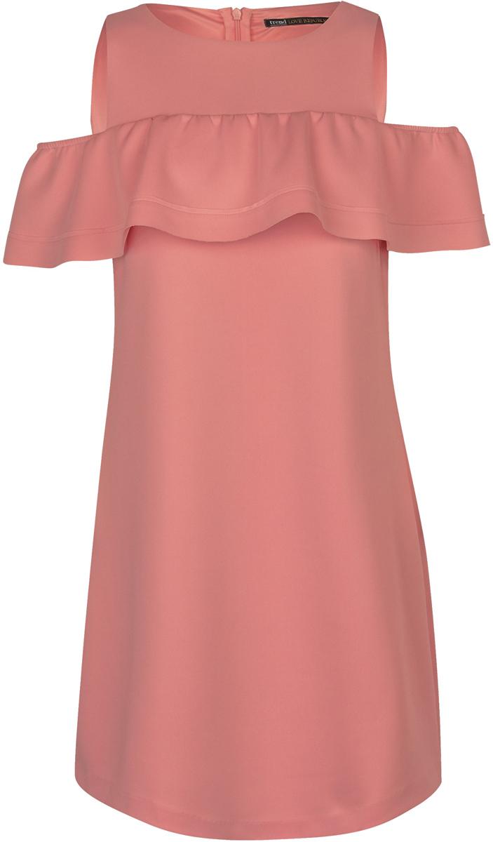 Платье Love Republic, цвет: розовый. 8254135515_77. Размер 42 платье love republic love republic lo022ewxsm74