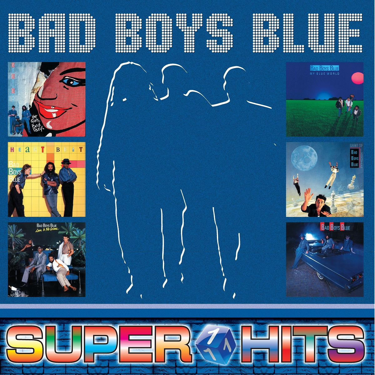 Bad Boys Blue Bad Boys Blue. Super Hits Volume 1 (LP)