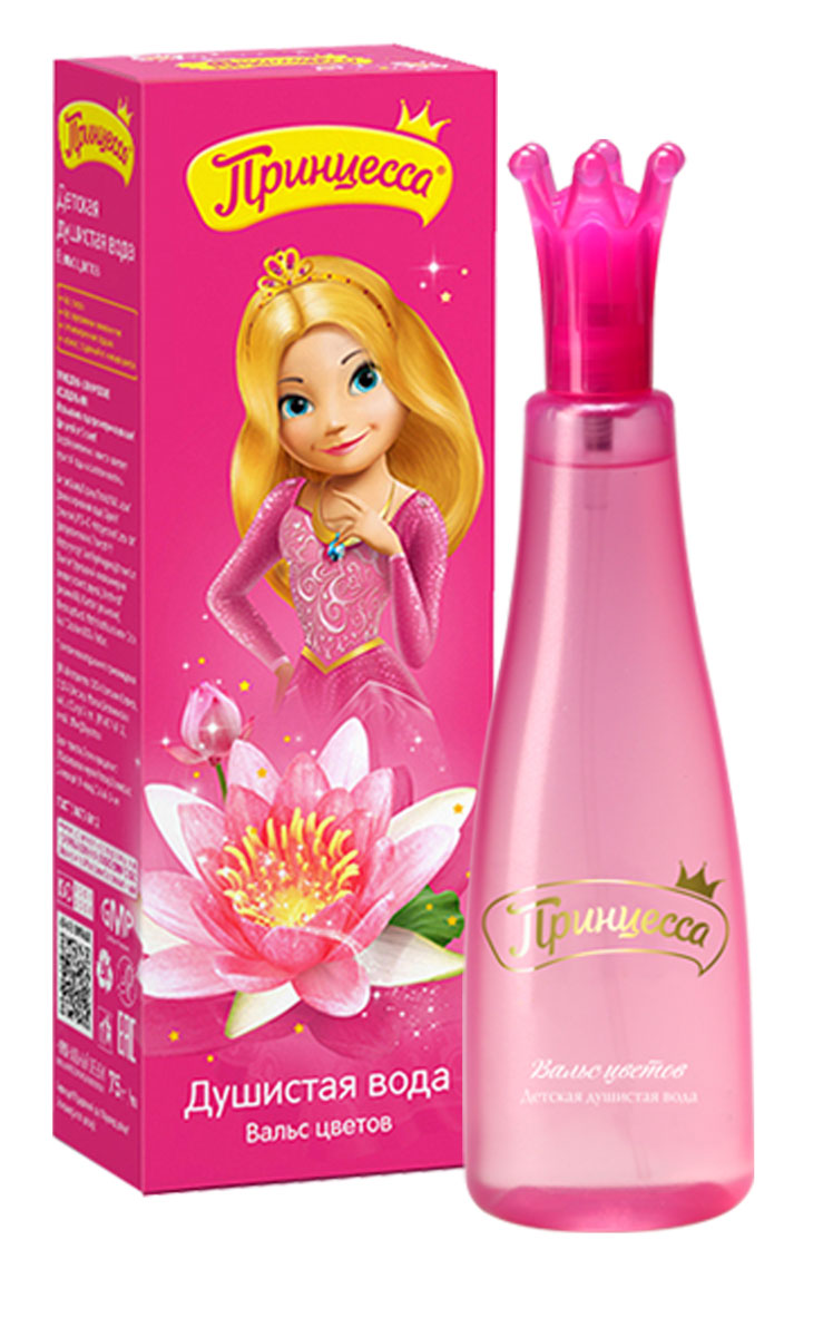 Принцесса Душистая вода Вальс цветов 75 мл понтипарфюм душистая вода для детей funny teddy 15мл