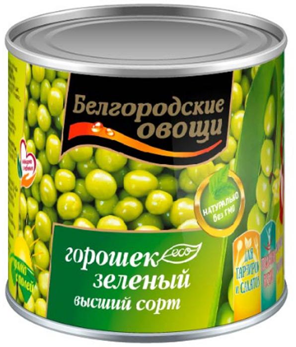 Белгородские овощи Горошек консервированный, 400 г дядя ваня горошек зеленый консервированный 400 г