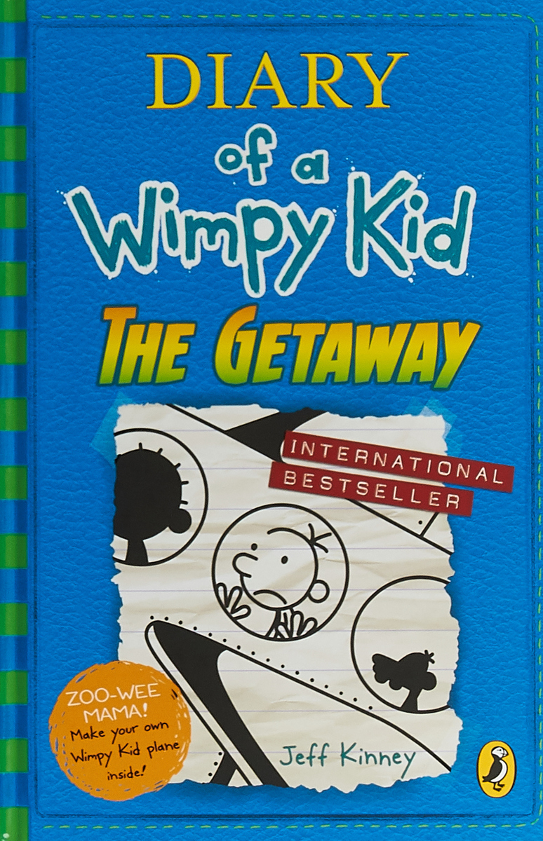 Diary of a Wimpy Kid 12: The Getaway diary of a wimpy kid dog days