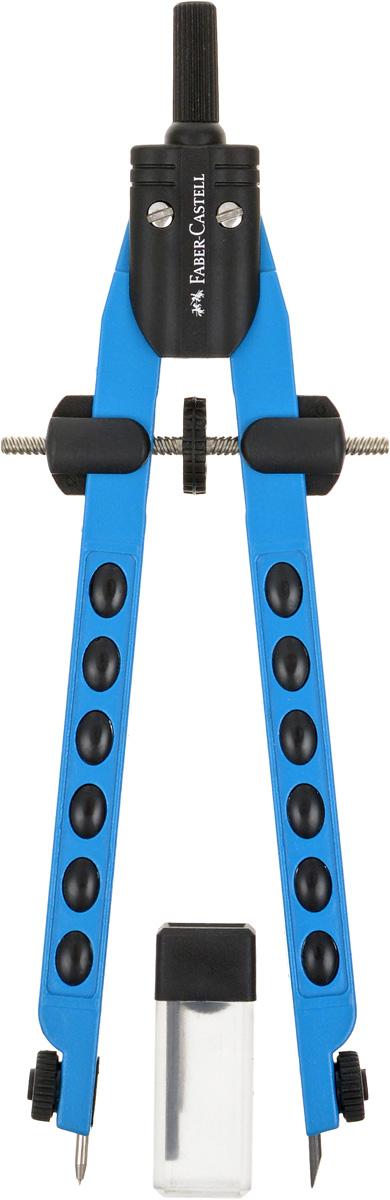 Faber-Castell Циркуль Factory Neon цвет корпуса синий -  Чертежные принадлежности