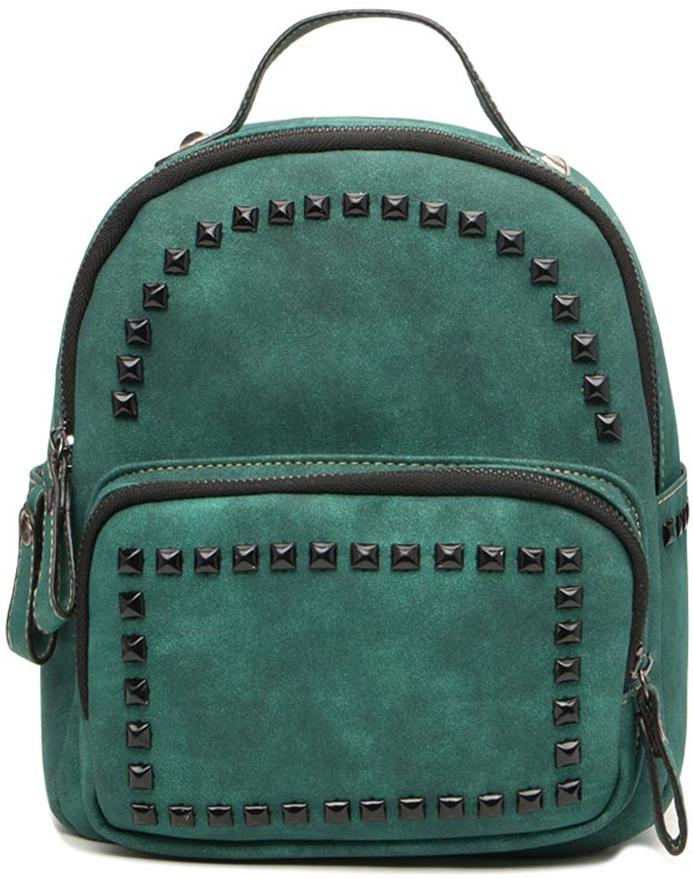 Рюкзак для девочки Vitacci, цвет: зеленый. 1000001016 сумки для детей pink lining детский мини рюкзак knights