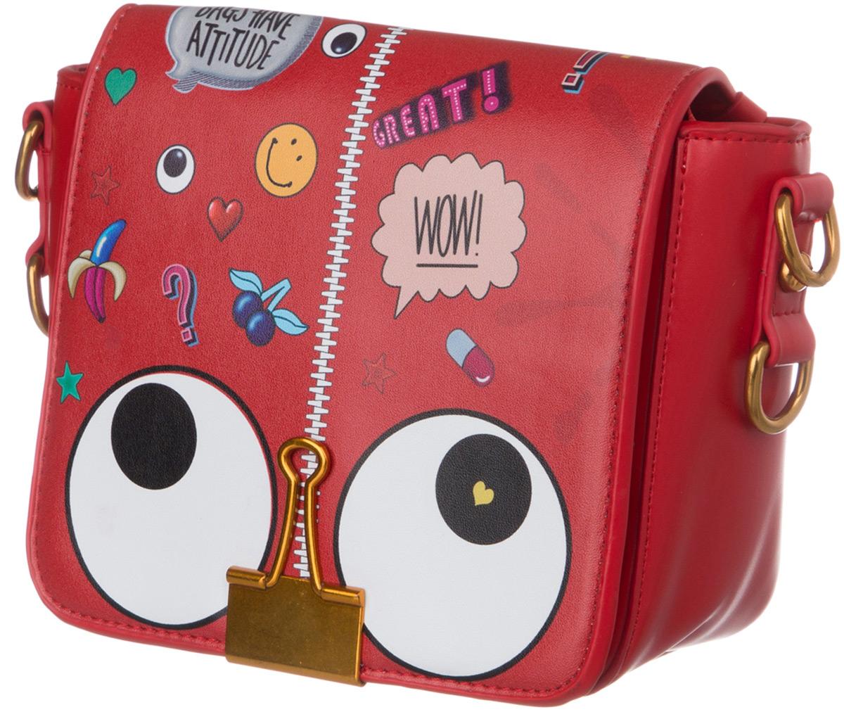 Сумка для девочки Vitacci, цвет: красный. BG02010 сумка для девочки vitacci цвет черный 1000000704