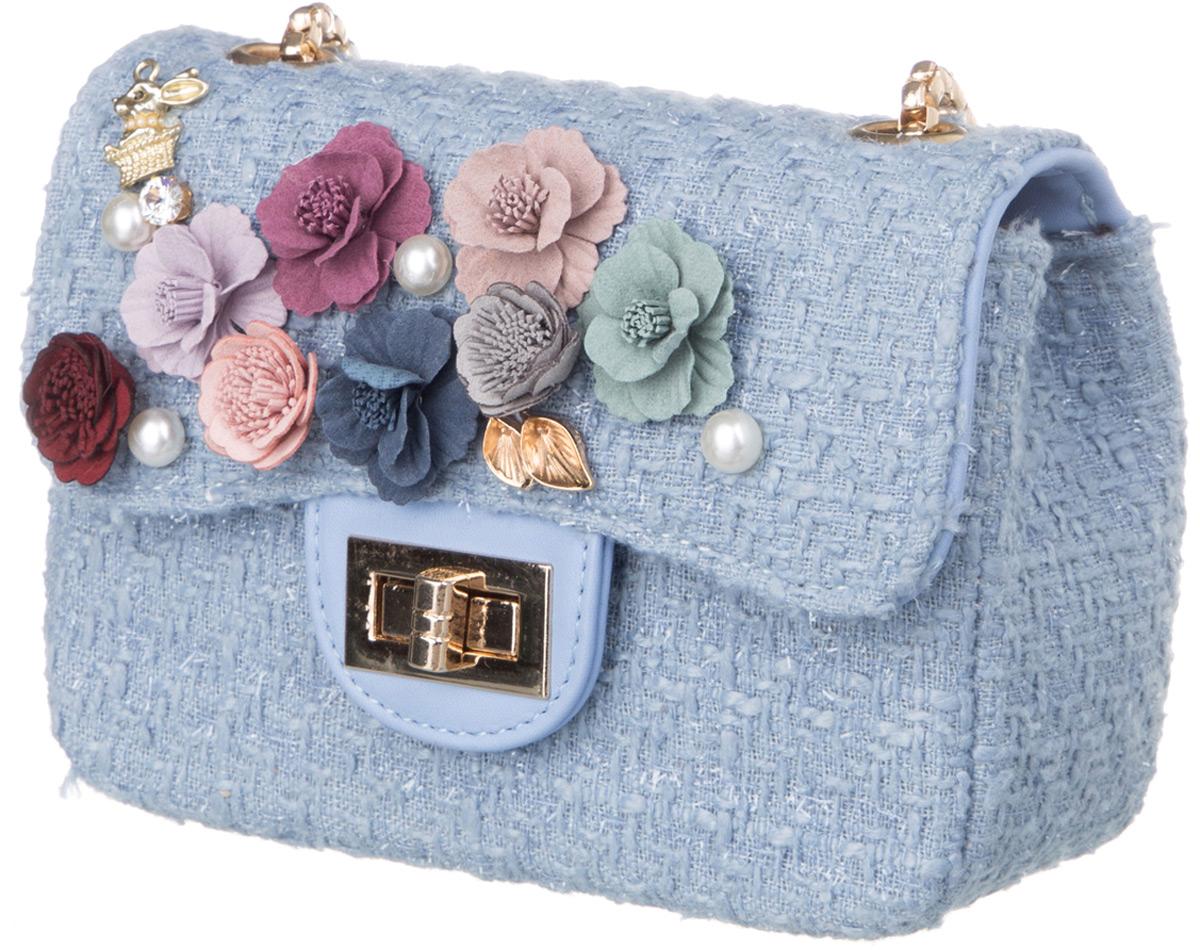 Сумка для девочки Vitacci, цвет: голубой. BY01012 сумка для девочки vitacci цвет черный 1000000704