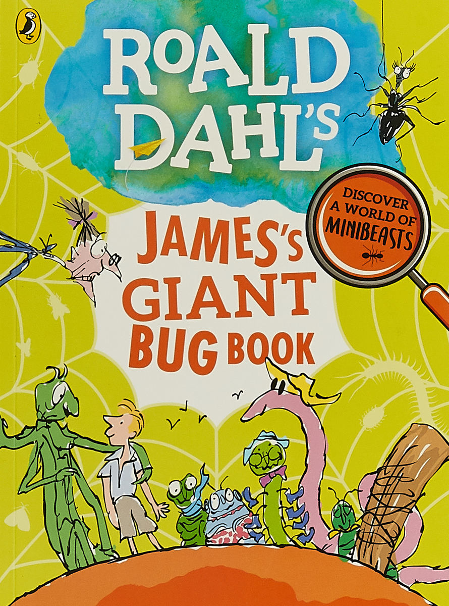 Roald Dahls Jamess Giant Bug Book the icky bug counting book