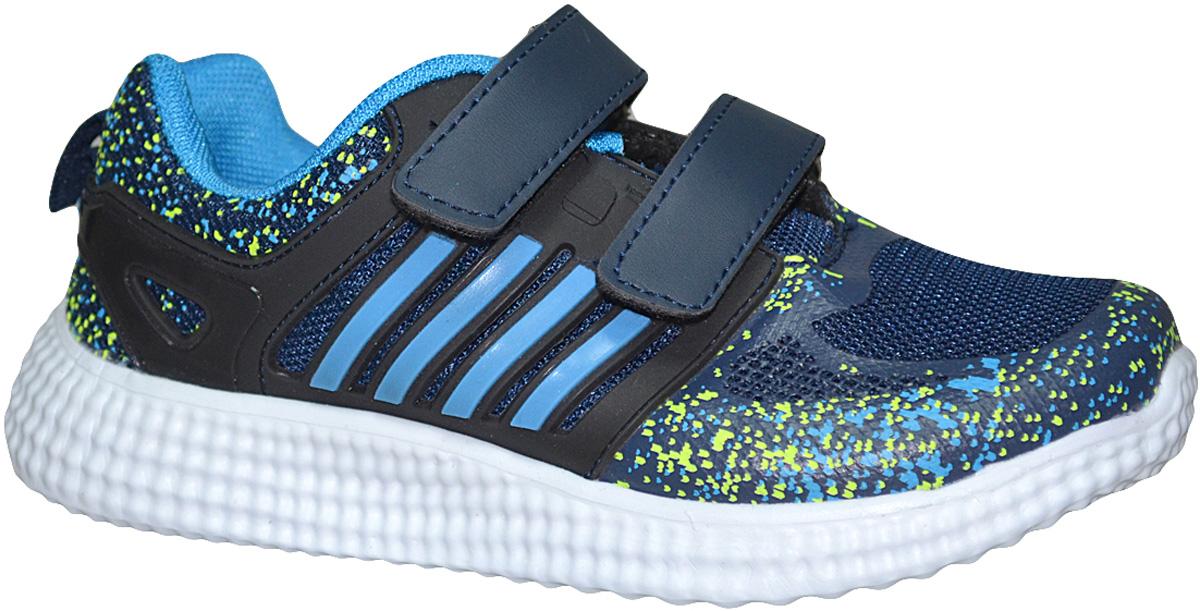Кроссовки для девочки Мифер, цвет: синий. 7709A-M. Размер 31 кроссовки для девочки мифер цвет розовый 5231 h размер 32