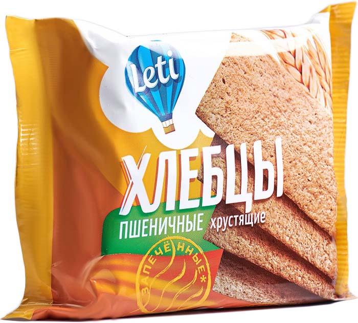 Leti Хлебцы пшеничные запеченные, 20 шт по 60 г