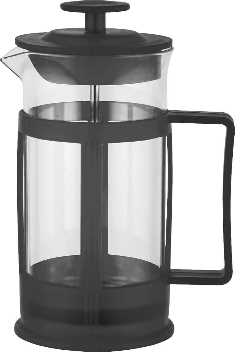 Для заваривания чая и кофе. Состав: нержавеющая сталь высокого качества, термостойкое стекло. Объем: 800 мл. Можно мыть в посудомоечной машине.