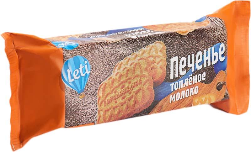 Leti Гороховецкое печенье топленое молоко, 176 г50411Сахарное — классический вид печенья, такой знакомый и любимый всеми. В меру сладкое, рассыпчатое, с тонким ароматом топленого молока — в сочетании с чашечкой чая или кофе наше печенье станет отличным завтраком для всей семьи.