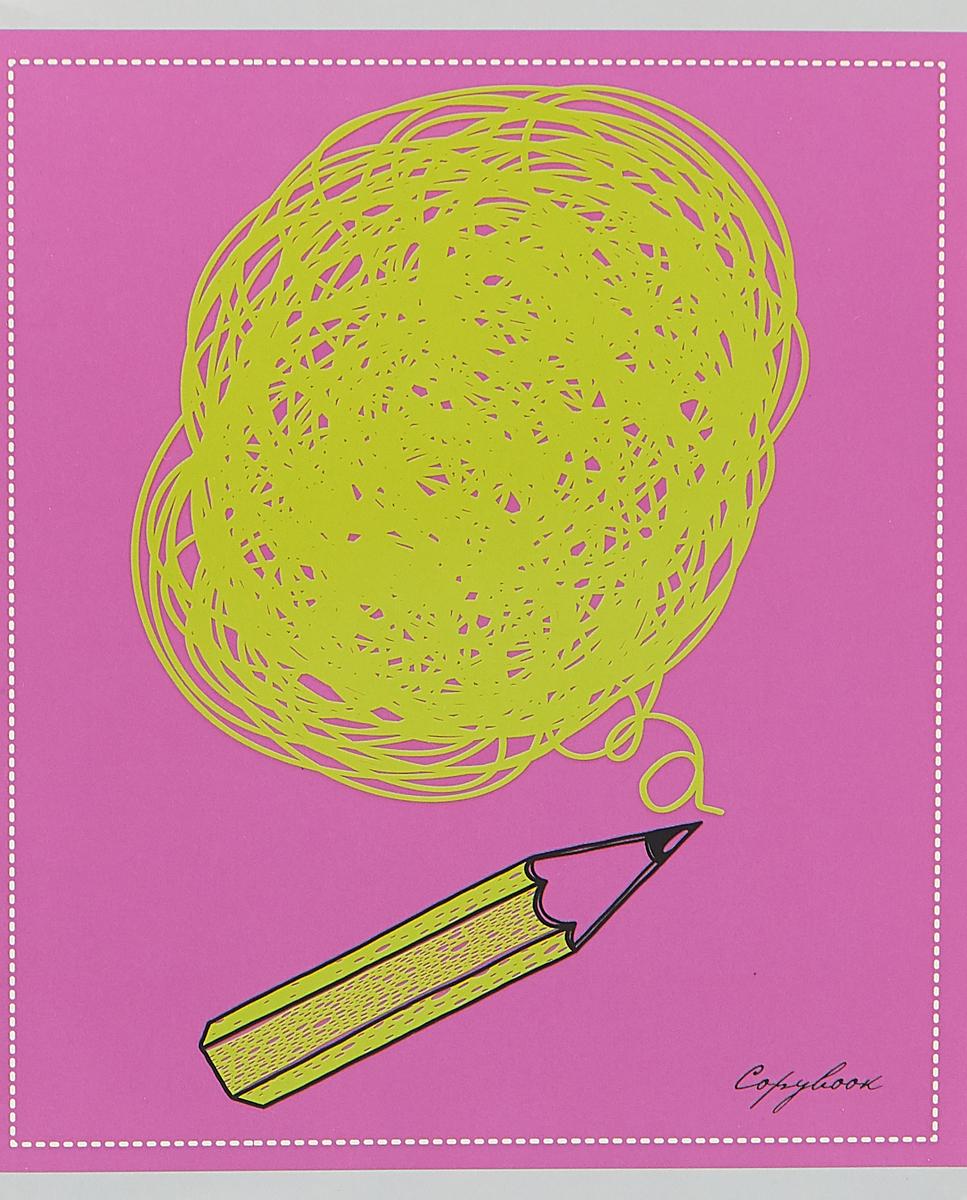 Unnika Land Тетрадь Полет идей 48 листов в клетку цвет сиреневый салатовыйТКЛ485686_сиреневый, салатовый