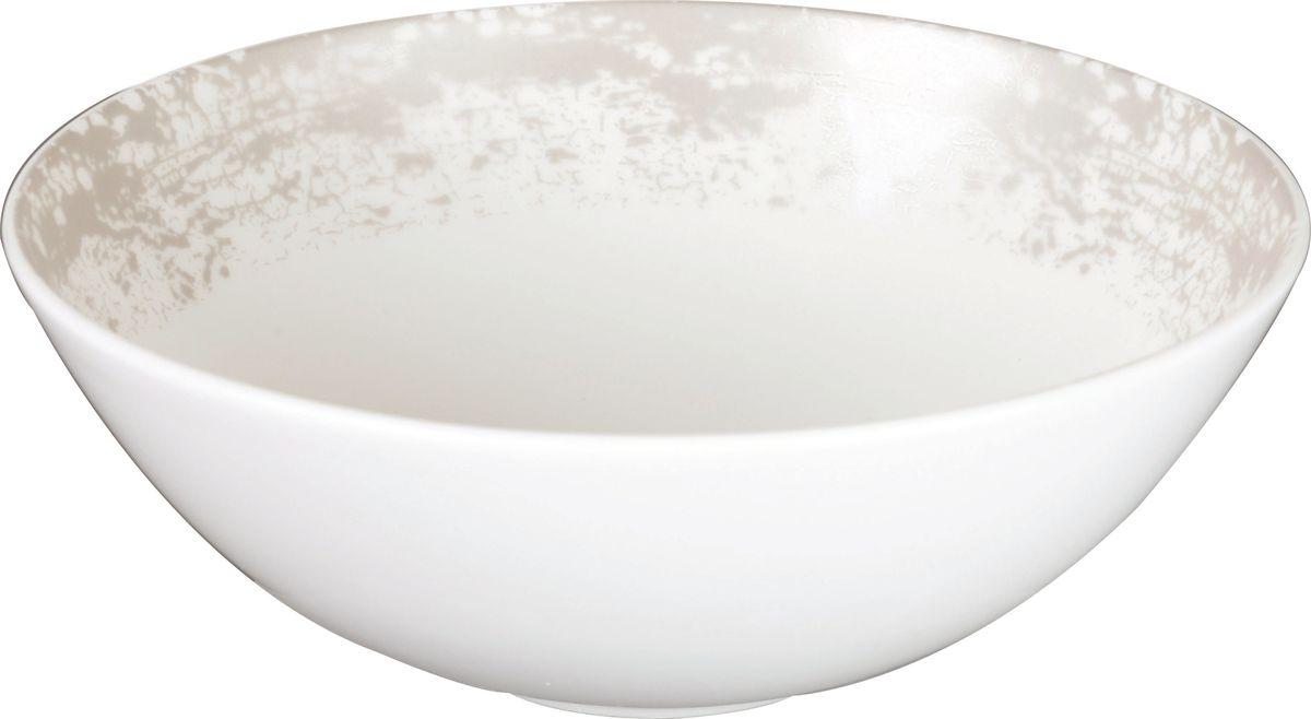 """Тарелка Churchill """"Eglomise"""" выполнена из высококачественного фарфора и украшена оригинальным узором. Такая тарелка отлично подойдет для подачи каш, супов и других жидких блюд."""