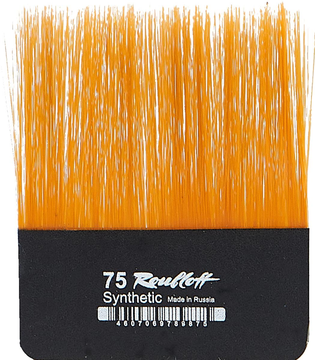 Roubloff Кисть для работы с золотом синтетика № 75 roubloff кисть стилус для ipad