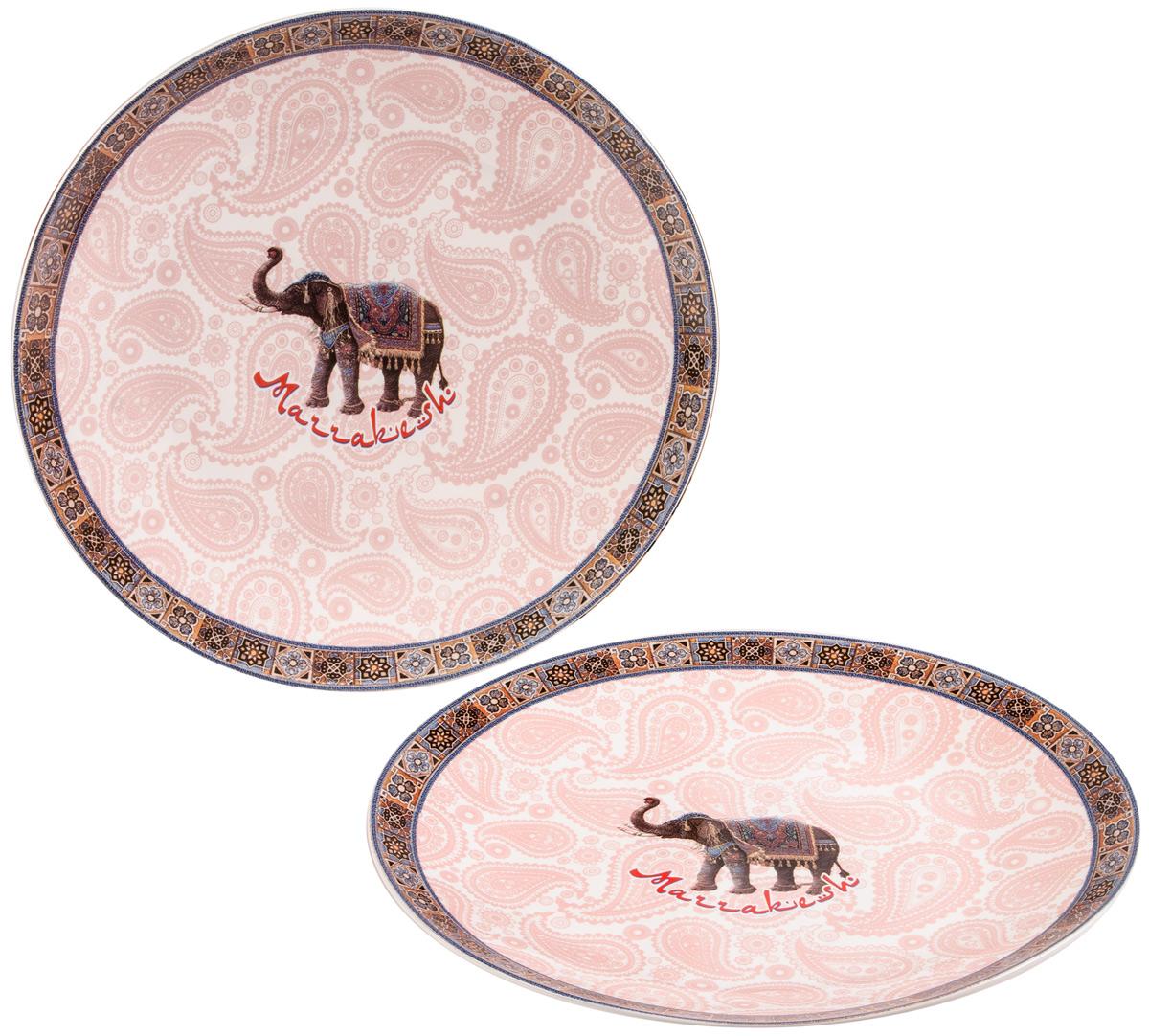 Набор тарелок Gift'n'Home Марракеш, диаметр 20 см, 2 шт cross reserved automatic parking lock