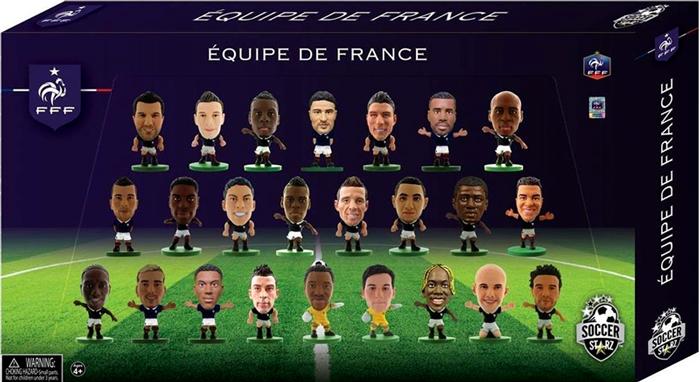 SoccerStarz Набор фигурок France 24 Player Team Pack 2016 Ed.