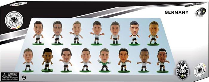 SoccerStarz Набор фигурок Germany 15 Player Team Pack 2016 Ed.