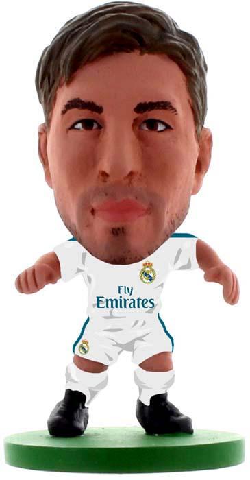 SoccerStarz Фигурка футболиста Real Madrid Sergio Ramos Home V-2018 майка борцовка print bar sergio ramos