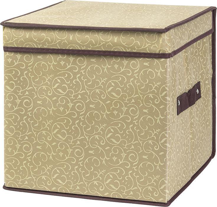 Кофр для хранения представляет собой закрывающуюся крышкой коробку жесткой конструкции, благодаря наличию внутри плотных листов картона. Для удобства у кофра есть ручка. Специально предназначен для защиты вашей одежды от воздействия негативных внешних факторов: влаги и сырости, моли, выгорания, грязи. Позволит организовать хранение перчаток, ремней, шарфов.