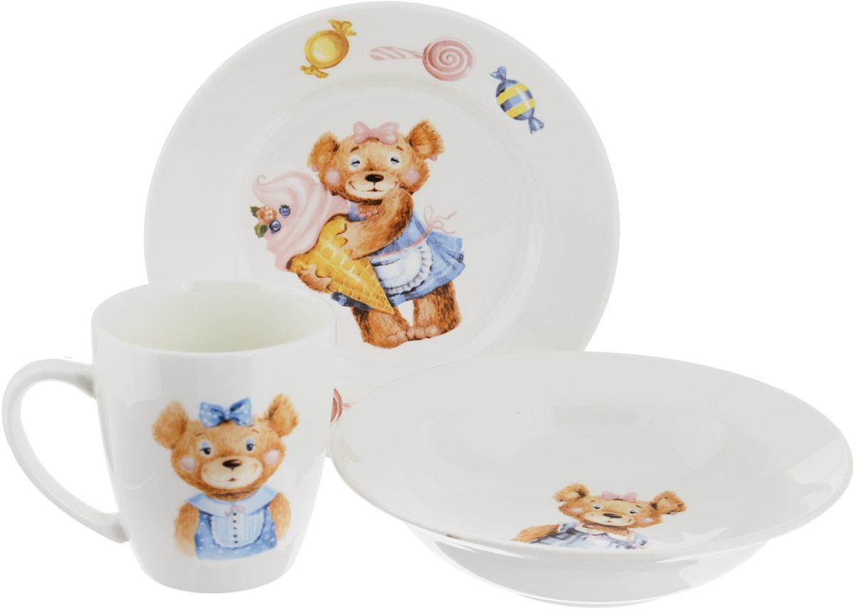 Фаянсовая детская посуда с забавным рисунком понравится каждому малышу. Изделие из качественного материала станет правильным выбором для повседневной эксплуатации и поможет превратить каждый прием пищи в радостное приключение.Особенности:- простота мойки,- стойкость к запахам,- насыщенный цвет.