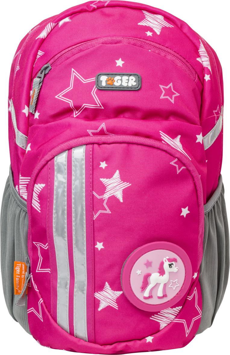 Tiger Family Рюкзак детский Lively Series Collection цвет розовый накидка защитная на спинку переднего сидения dollex город с карманом 61 х 46 см