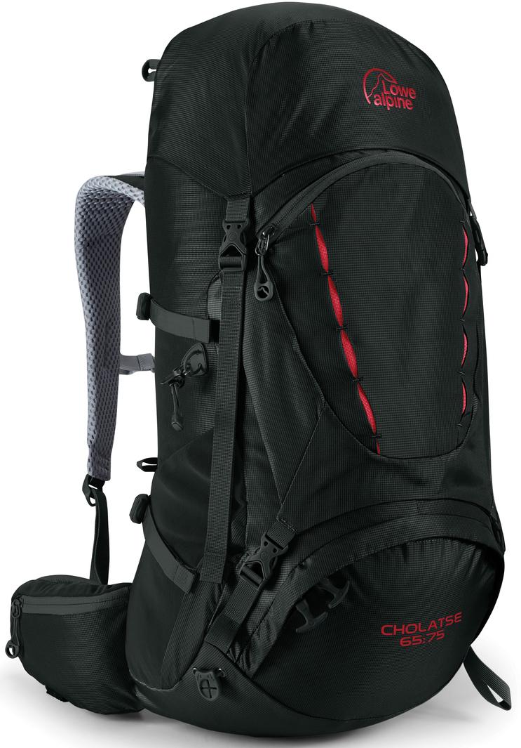 Рюкзак туристический Lowe Alpine Cholatse 65:75, цвет: черный, 75 л рюкзак туристический cups 65 л