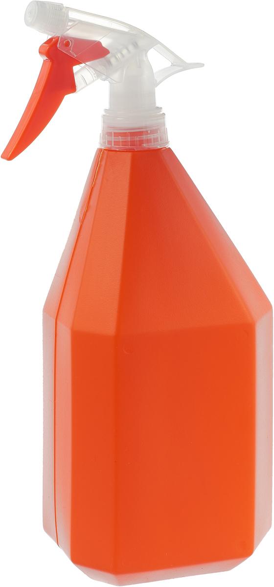 Опрыскиватель Idea Конус, цвет: оранжевый, 1 л опрыскиватель компрессионный kwazar orion супер 360 цвет оранжевый 12 л