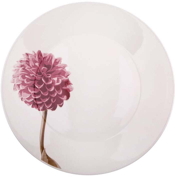 """Добавьте вашему столу бразильского очарования с набором обеденных тарелок Biona """"Далия"""". Их яркие летние цвета прекрасно подойдут для ежедневной сервировки, а так же станут естественным дополнением праздничного вечера. Можно использовать в микроволновой печи и мыть в посудомоечной машине."""