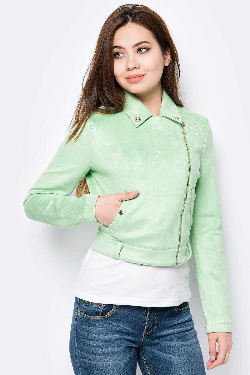Куртка женская Love Republic, цвет: оливковый. 8254852103_13. Размер 44 куртка утепленная love republic love republic lo022ewxsl31