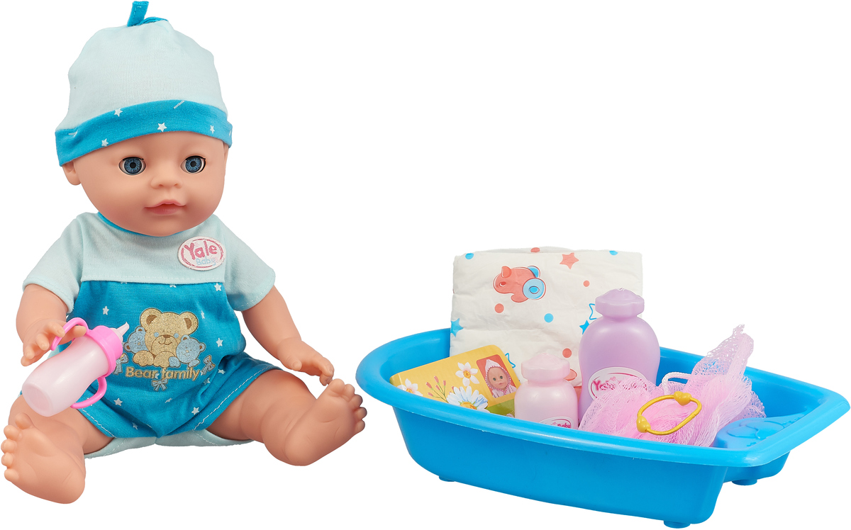 Lisa Jane Пупс с ванной цвет голубой 59474 цена