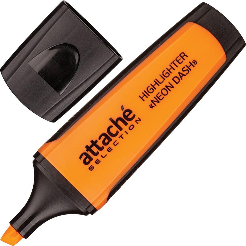Attache Selection Маркер Neon Dash цвет оранжевый