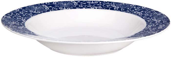"""Коллекция """"Синие узоры"""" от Miolla представляет собой традиционную классику, выполненную в нежных цветовых решениях и изысканном дизайне. Посуда """"Синие узоры"""" подходит к любому интерьеру.Подходит для использования в микроволновой печи, можно мыть в посудомоечной машине."""