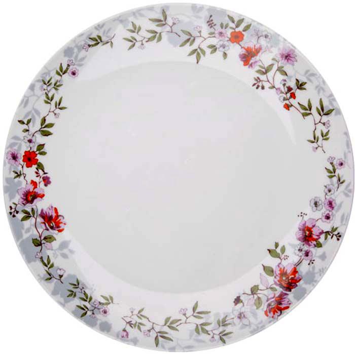 Тарелка обеденная Розалия, 27 см посуда constructive eating construction plate тарелка строительная серия