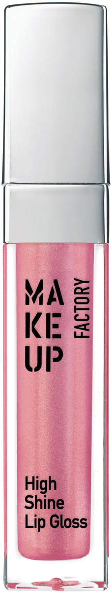 Make up Factory Блеск для губ с эффектом влажных губ High Shine Lip Gloss №45, цвет: радужная роза, 6,5 мл блеск для губ make up secret lip gloss lgs 04 цвет lgs 04 variant hex name f4a6b6