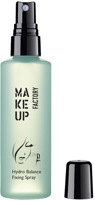 Make up Factory Увлажняющий спрей для фиксации макияжа Hydro Balance Fixing Spray, 100 мл консилер make up factory make up factory ma120lwhds40