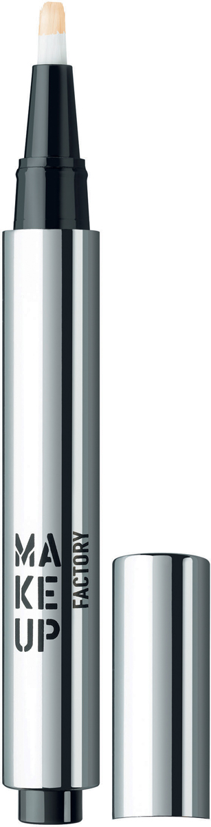 Make up Factory Светоотражающий консилер Light Reflecting Concealer №02, цвет: кремовый, 2,5 мл помада make up factory make up factory ma120lwhdq61