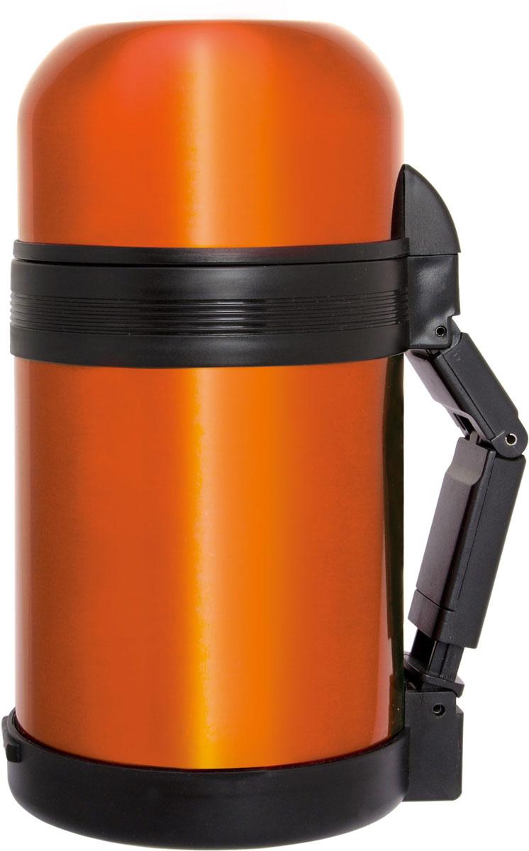 """Термос """"Queen Ruby"""" выполнен из высококачественной нержавеющей стали.Особенности: Клапан с вакуумной теплоизоляцией сохраняет напитки горячими или холодными долгое время. Дополнительная крышка - чашка из пищевого пластика.Объем: 800 мл."""