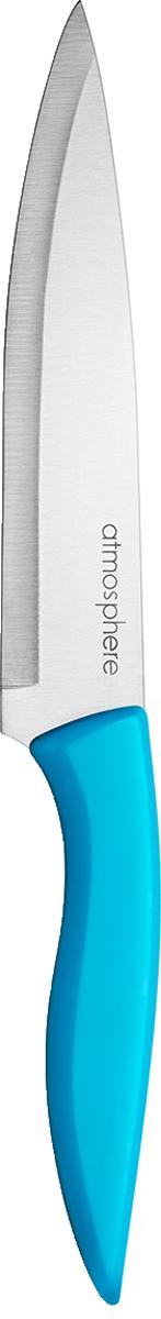 Разделочный нож с длиной лезвия 15 см, подходит для нарезки большинства продуктов. Нож не требует частой заточки, что экономит время хозяйке и продлевает срок службы изделия. Подходит для мытья в посудомоечной машине.