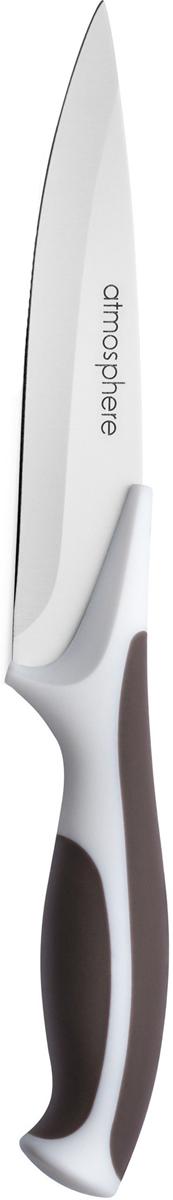 Классический овощной нож с длиной лезвия 10 см. Не требует частой заточки. Пластиковая ручка покрыта каучуком, благодаря чему нож превосходно лежит в руке и не скользит. Подходит для мытья в посудомоечной машине.