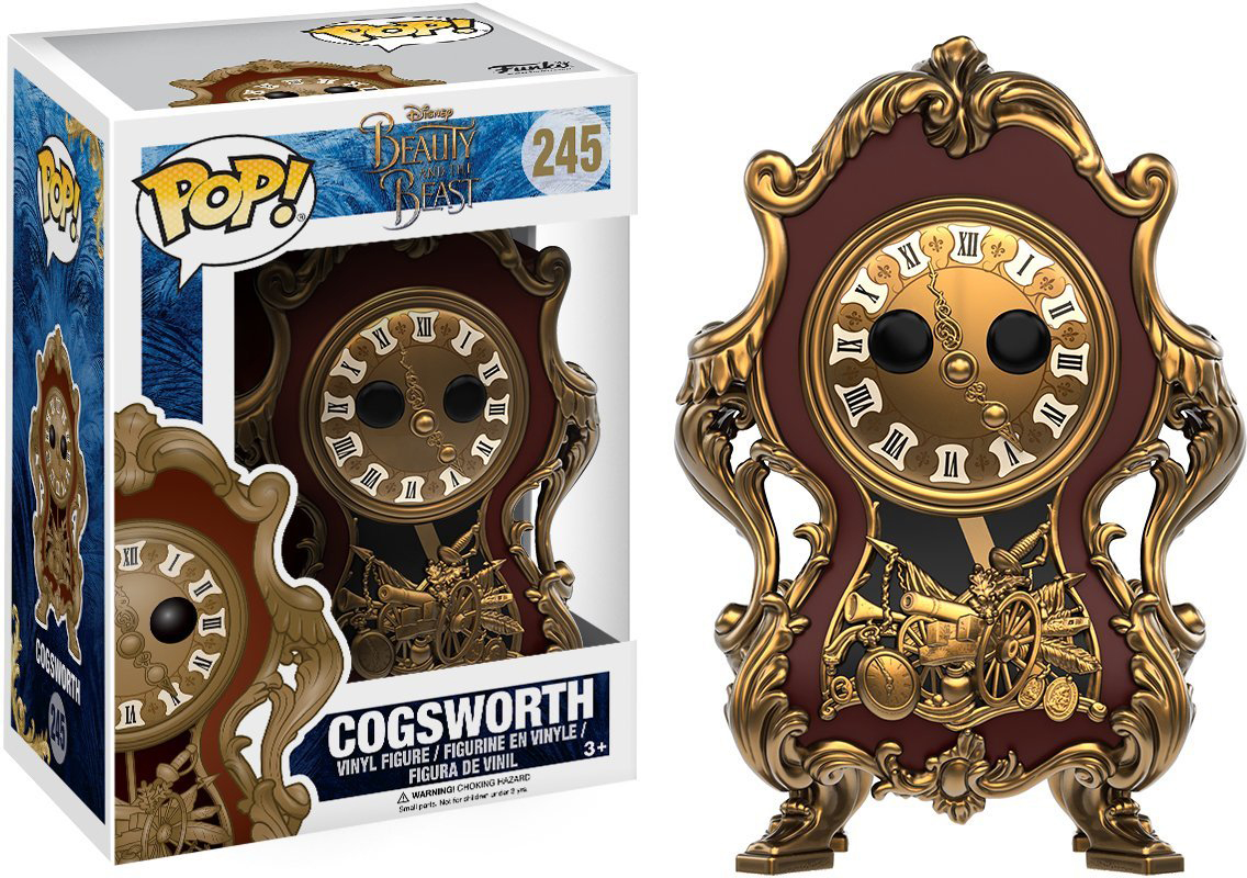 Funko POP! Vinyl Фигурка Disney Beauty & The Beast 2017 Cogsworth 12320 фигурка funko pop movies the dark tower the man in black 9 5 см