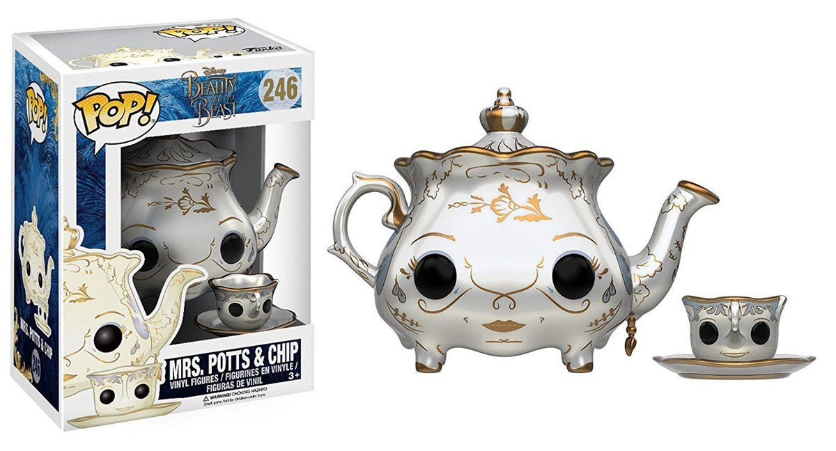 Funko POP! Vinyl Фигурка Disney Beauty & The Beast 2017 Mrs Potts & Chip 12321 free shipping 10pcs au screen main chip auo 003 lcd screen chip new original