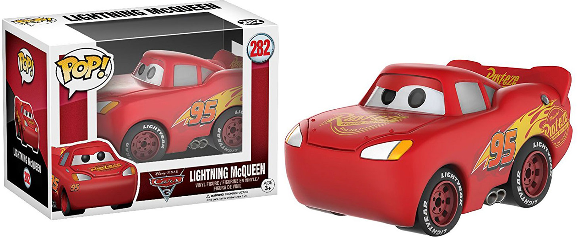 Funko POP! Vinyl Фигурка Disney Cars 3 Lightning McQueen 13237 disney pixar cars cars 3 dwb90 lighting mcqueen piston cup race track parking toys birthday christmas gifts for kids cars toys